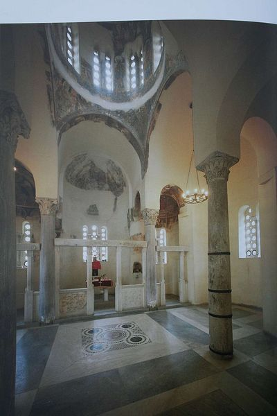 Church of the Holy Apostles, Athens. 11th Century.