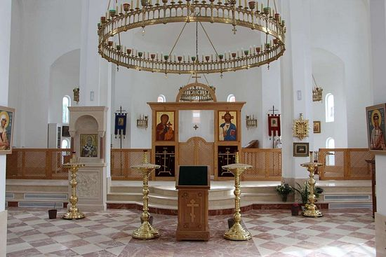 Lighting In Orthodox Churches Liturgical Principles And