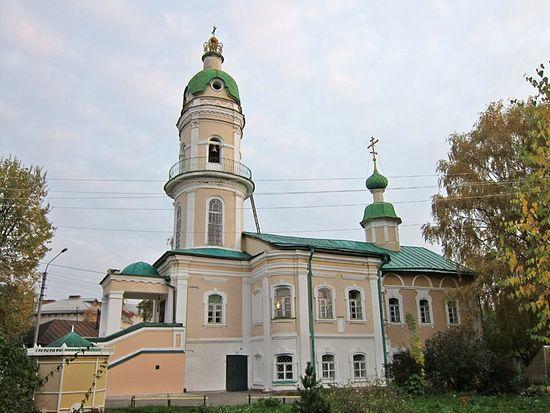 Кострома, храм прп. Алексия, человека Божия