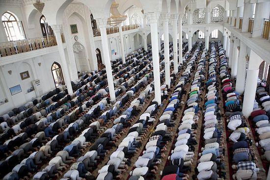 Таджикистан. В душанбинской мечети