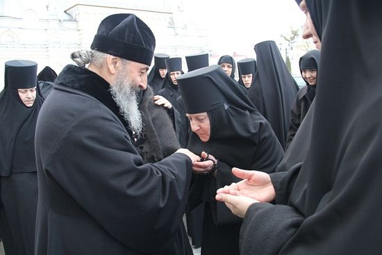 Благословение митрополита