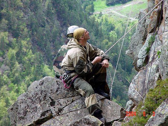 Дмитрий Разумовский в горах