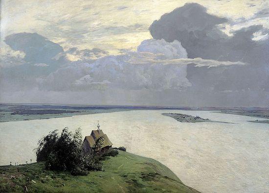 Over Eternal Peace. Artist: Isaac Levitan,1894