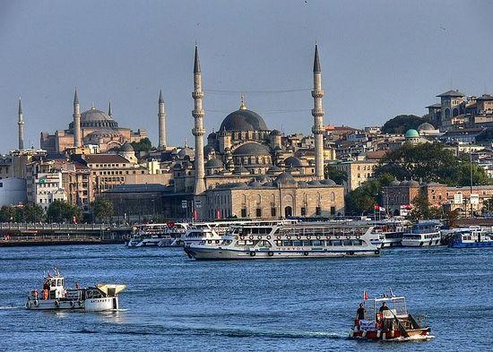 Стамбул. Современное фото