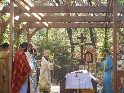 St. Herman's Monastery Celebrates the 33rd Anniversary of the Repose of Fr. Seraphim Rose