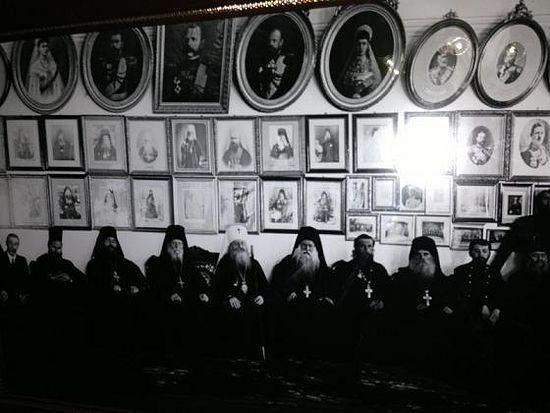 184. Царский архондарик в начале прошлого века. Фото из архива Свято– Пантелеимонова монастыря