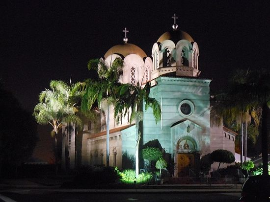 St. Stephen's Serbian Orthodox Cathedral, Alhambra, CA