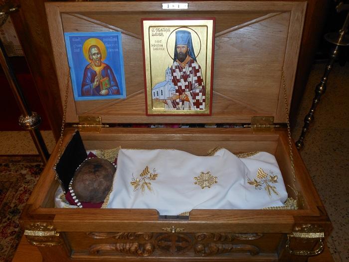 Relics of St. Sebastian