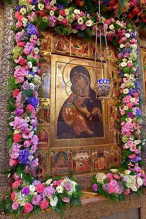 Владимирская икона Божией Матери. Фото: А. Горяинов / Православие.Ru