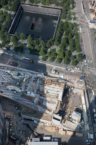 Construction on the shrine, to the south of the National September 11 Memorial, is expected to take two years.