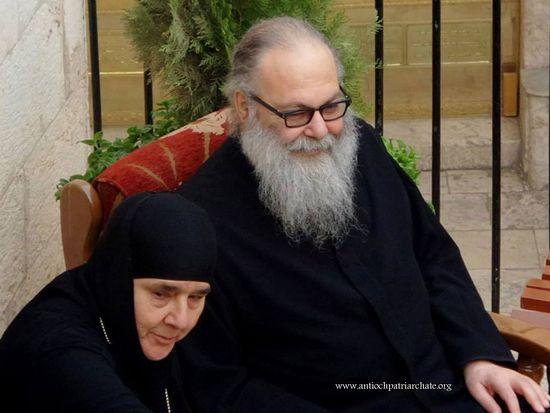 Святейший Патриарх на встрече с сестрами обители