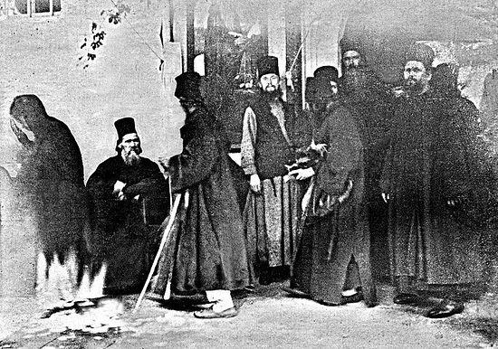 Чудо явления Божией Матери. 3 сентября (21 августа ст. ст.) 1903 г. Фотография