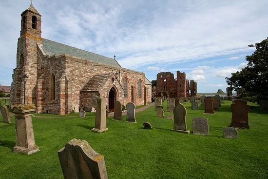 Church of St. Mary the Virgin on Lindisfarne.