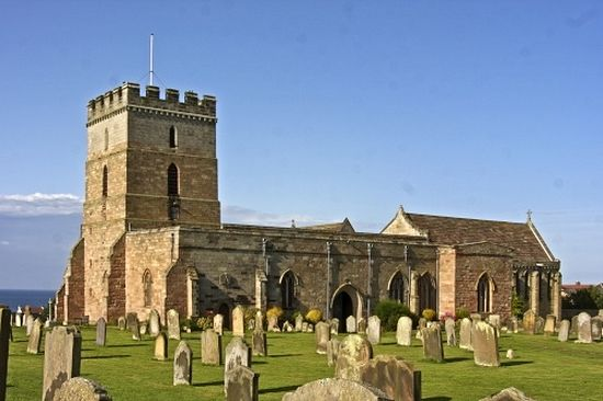 St. Aidan's Church in Bamburgh, Northumberland.