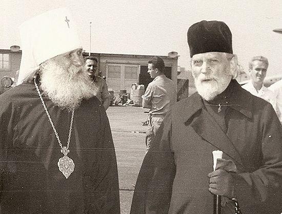 Митрополиты Вениамин (Федченков) и Григорий (Чуков)