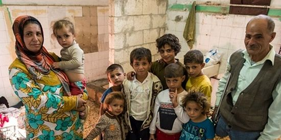 Syrian refugees being assisted by World Relief in Jordan.