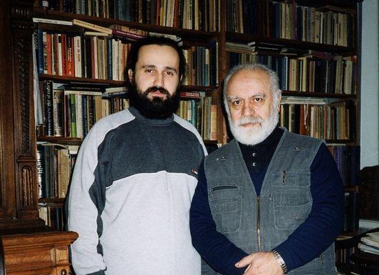 С востоковедом, профессором Петербургской духовной академии и семинарии Михаилом Юхановичем Садо