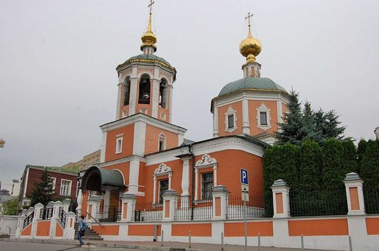 The main church at the Podvorye.