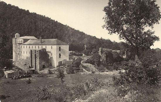 206. На территории Старого (Нагорного) Русика. (1870?) Из фотолаборатории Россикона (?).