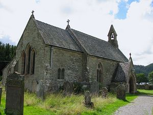 St. Bega's Church in Bassenthwaite, Cumbria