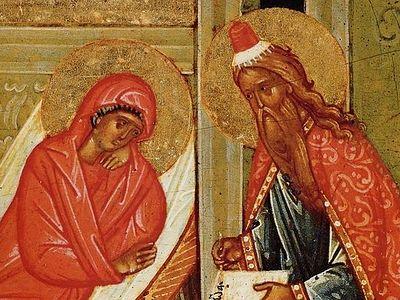 Пророк Захарија и праведна Јелисавета