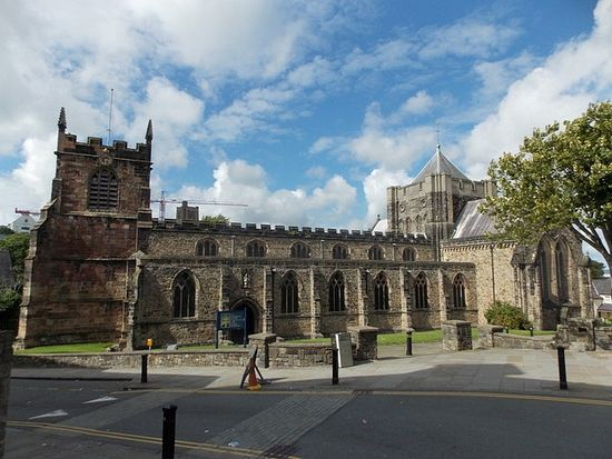 Bangor Cathedral of St. Deiniol