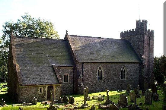 St. Deiniol's Church in Itton, Monmouthshire