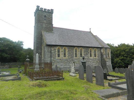 St. Deiniol's Church in Llanddeiniol, Ceredigion