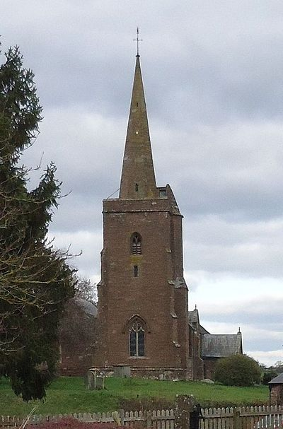 St. Deiniol's Church in Llangarron, Herefordshire