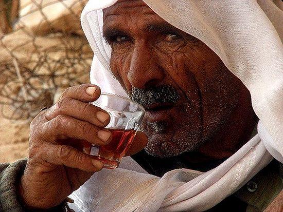 Бедуин на горе Моисея