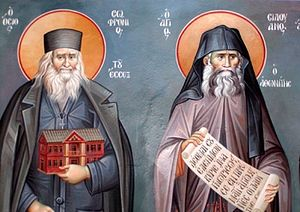 Elder Sophrony and St. Silouan