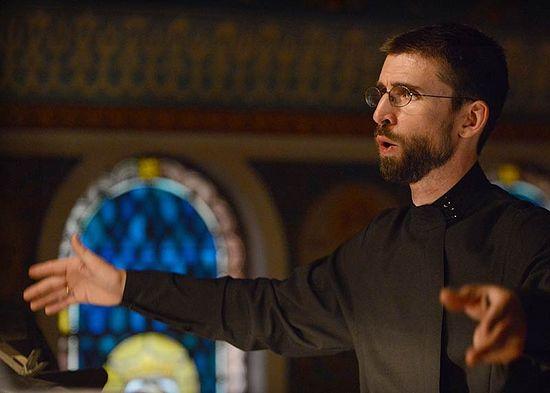 Choirmaster Benedict Sheehan