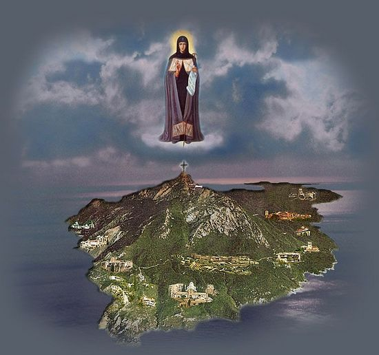 The Holy Mountain, under the protection of the Theotokos
