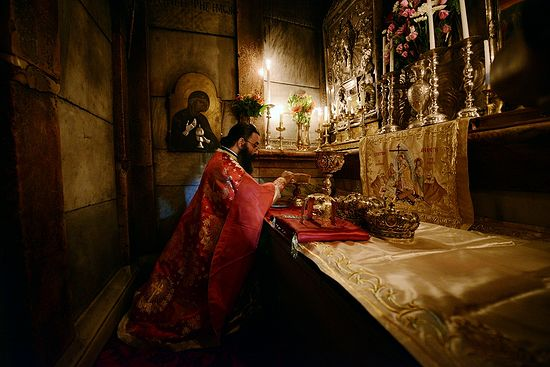 Liturgy in the Holy Sepulchre