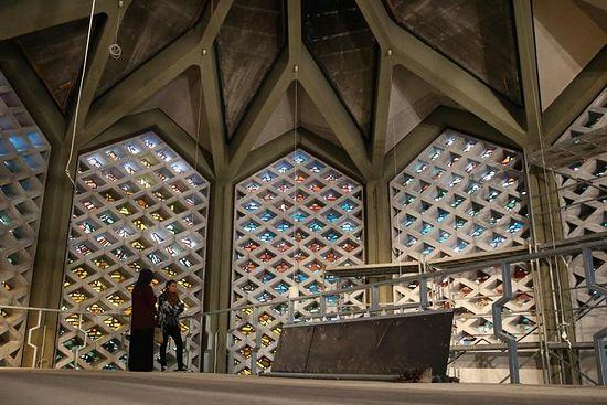 Интерьер будущей мечети. Фото: DPA