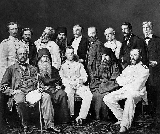 Свято-Пантелеимонов монастырь. Визит великого князя Алексея Александровича, 16 июня 1867 г.