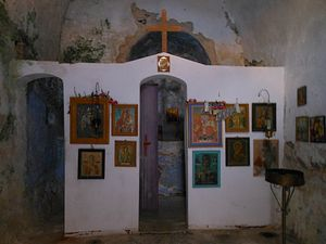 One of the chapels in the vilalge of Paleachora