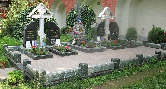 Фото: Мемориал белым воинам в Донском монастыре/ru.wikipedia.org