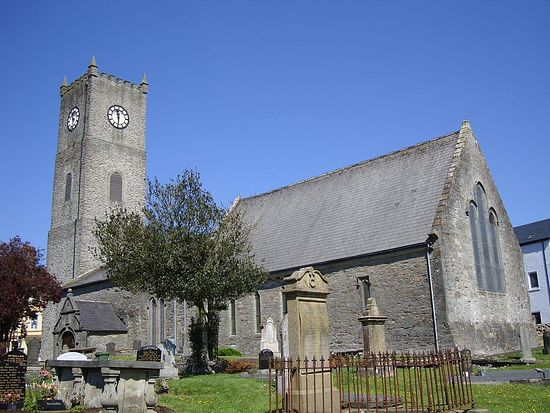 Anglican Cathedral of St. Adomnan in Raphoe, Donegal, Ireland
