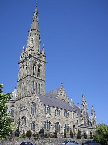 Catholic Cathedral of Sts. Columba and Adomnan in Letterkenny, Donegal, Ireland
