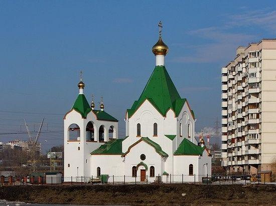 Храм Всех святых, в земле Российской просиявших, в Новокосино