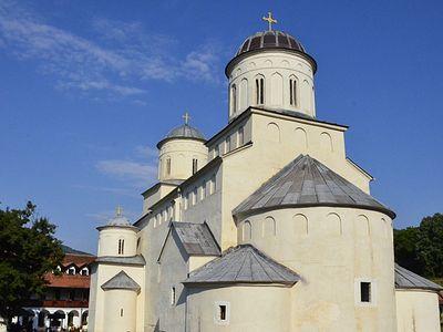 Сербский монастырь Милешева