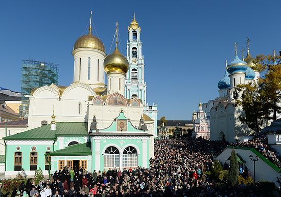 St. Sergius Day in the Lavra