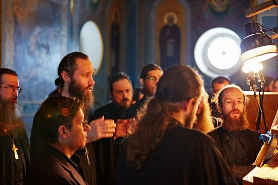 Choir of brethren of Valaam monastery. Photo: valaam.ru
