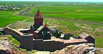 Khor-Virap in Armenia. The place were St.Gregory was imprisoned