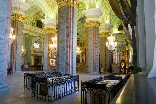Петропавловский собор, Санкт-Петербург. Усыпальница русских императоров