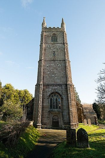 Church of St. Melor in Linkinhorne, Cornwall
