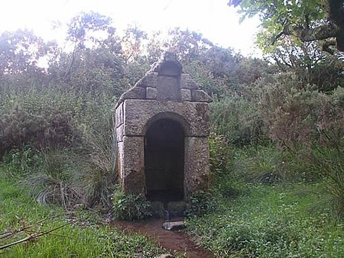 Holy well of St. Melor in Linkinhorne, Cornwall