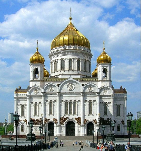 Christ the Saviour Cathedral, Moscow.