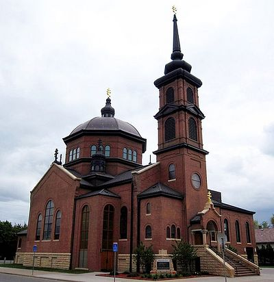 St. Mary's Orthodox Cathedral, Minneapolis, Minnesota, where St.Alexis served